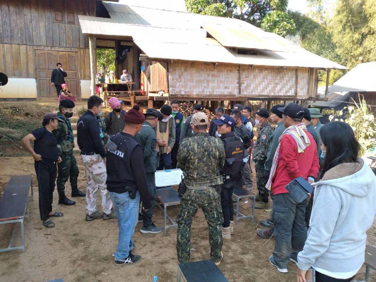 หน่วยเฉพาะกิจกรมทหารราบที่ 7 ระดมพลร่วมชาวบ้านตามหาหนุ่มแม่ฮ่องสอน
