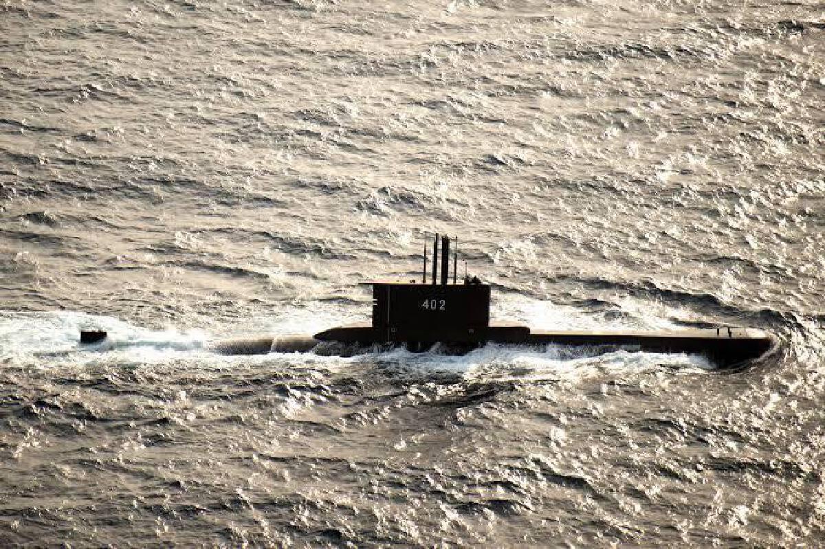 """พบแล้วเรือดำน้ำอินโดนีเซีย""""KRI Nanggala402""""ที่สูญหาย พร้อมลูกเรือ53คน"""