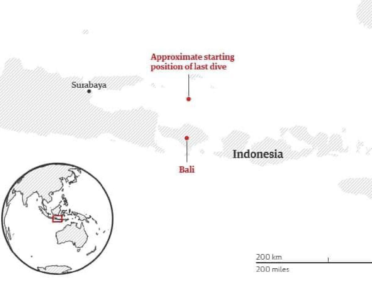พบแล้วเรือดำน้ำอินโดนีเซีย