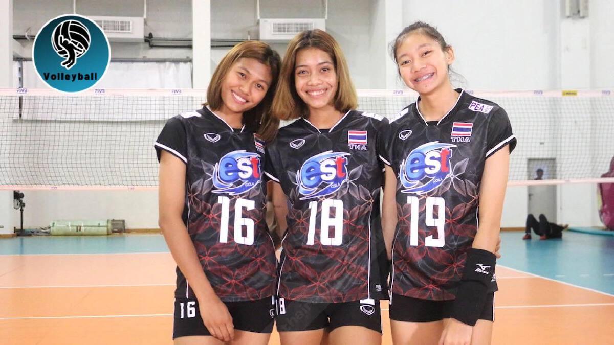 วอลเลย์บอลหญิงทีมชาติไทยชุดสายเลือดใหม่ หายป่วยโควิดแล้ว