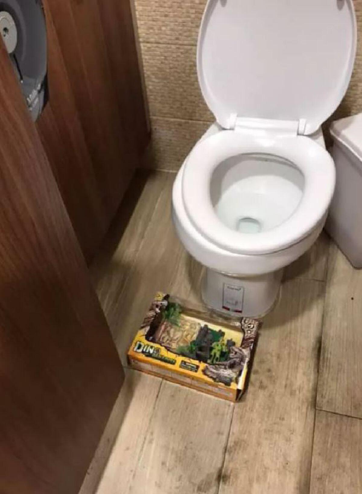 โอละพ่อ สน.เตาปูนเผยผลตรวจสอบกล่องปริศนาในห้องน้ำห้างดัง