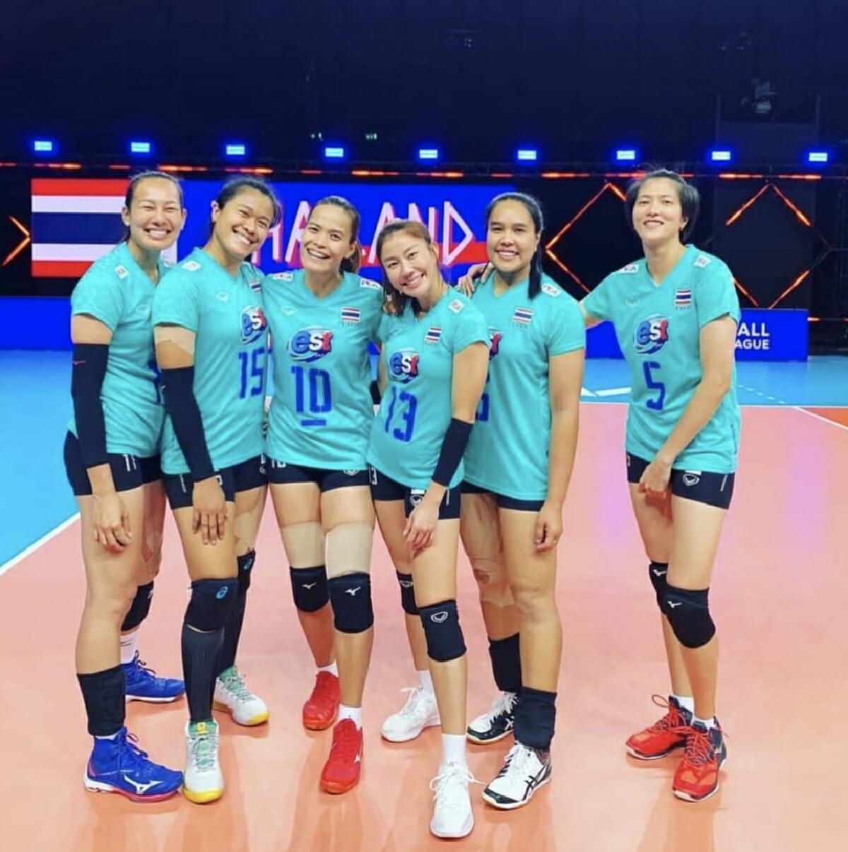 6เซียนตบสาวไทย นักวอลเลย์บอลทีมชาติไทย อำลา