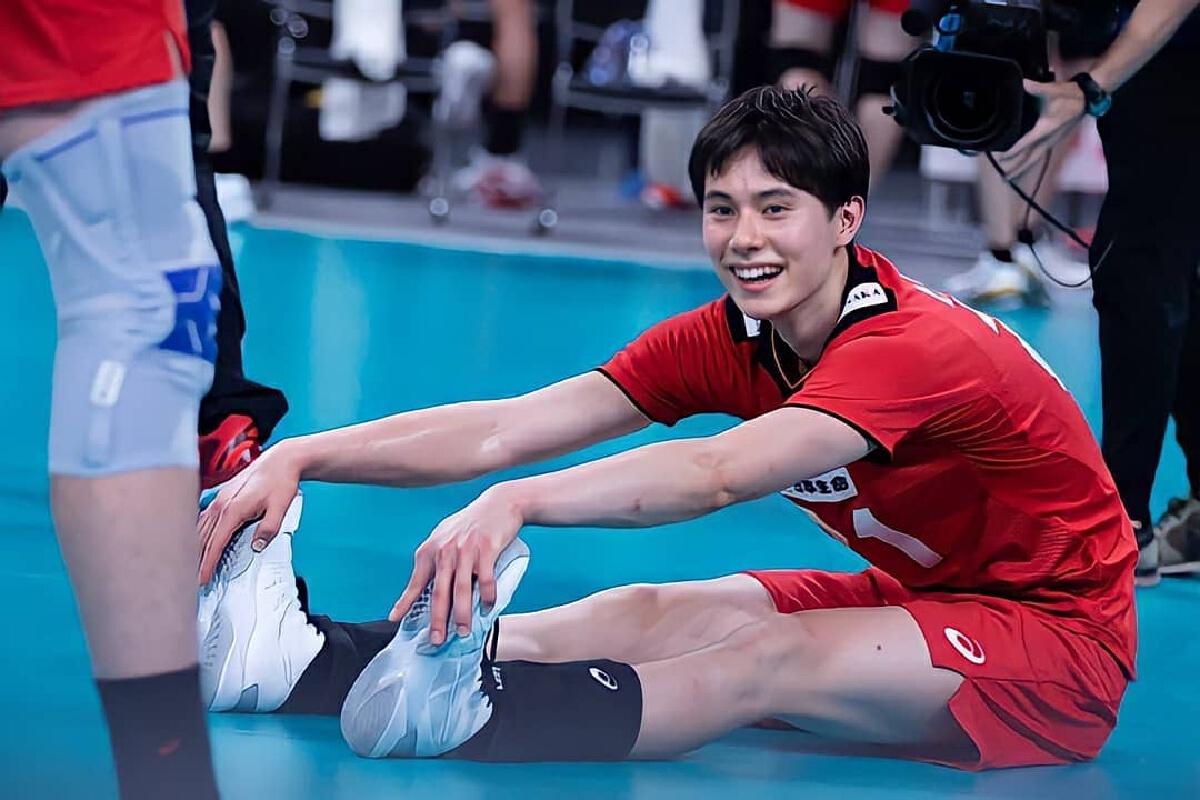 เปิดวาร์ป ทาคาฮาชิ รัน นักวอลเลย์บอลชายทีมชาติญี่ปุ่น