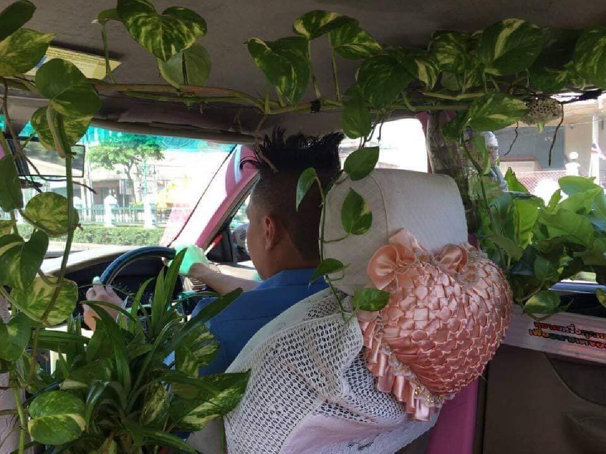 เปิดภาพล่าสุดแท็กซี่สายเขียวที่เคยเป็นข่าวดัง ยังคงคอนเซ็ปต์เดิม