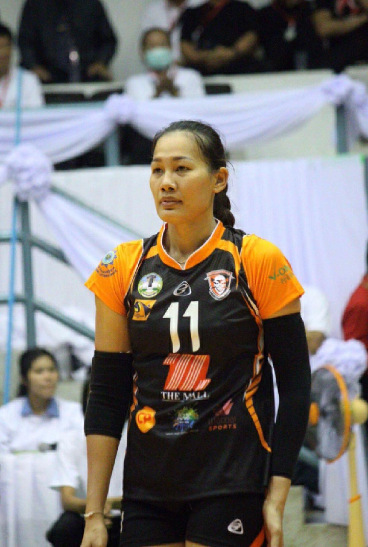 นักวอลเลย์บอลทีมชาติไทย อำพร หญ้าผา ไม่ได้บรรจุการไฟฟ้า