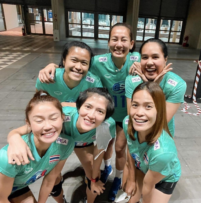 อำพร หญ้าผา วอลเลย์บอลทีมชาติไทย อำลา