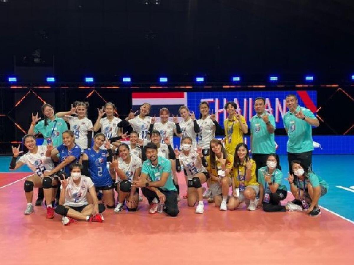 6เซียนตบสาวไทย อำลา นักวอลเลย์บอลทีมชาติไทย