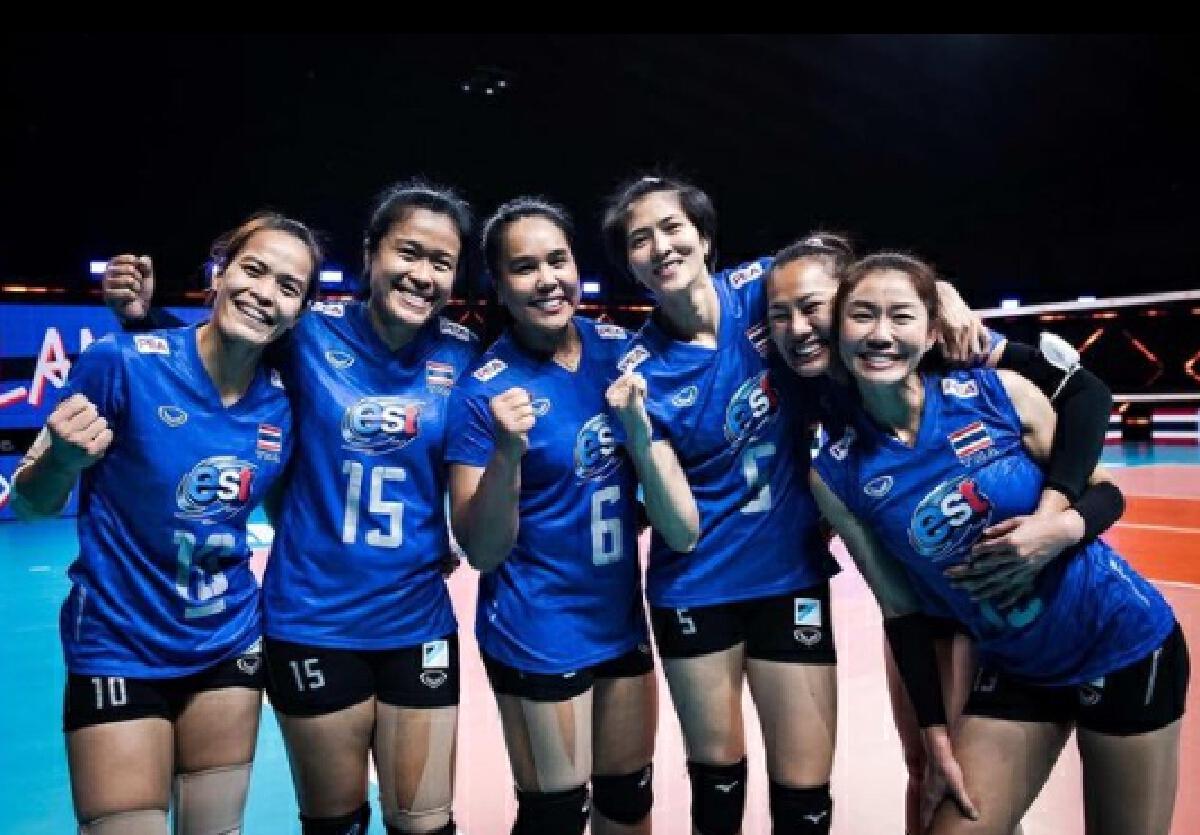 นักวอลเลย์บอลทีมชาติไทย 6 เซียนตบสาวไทย อำลา