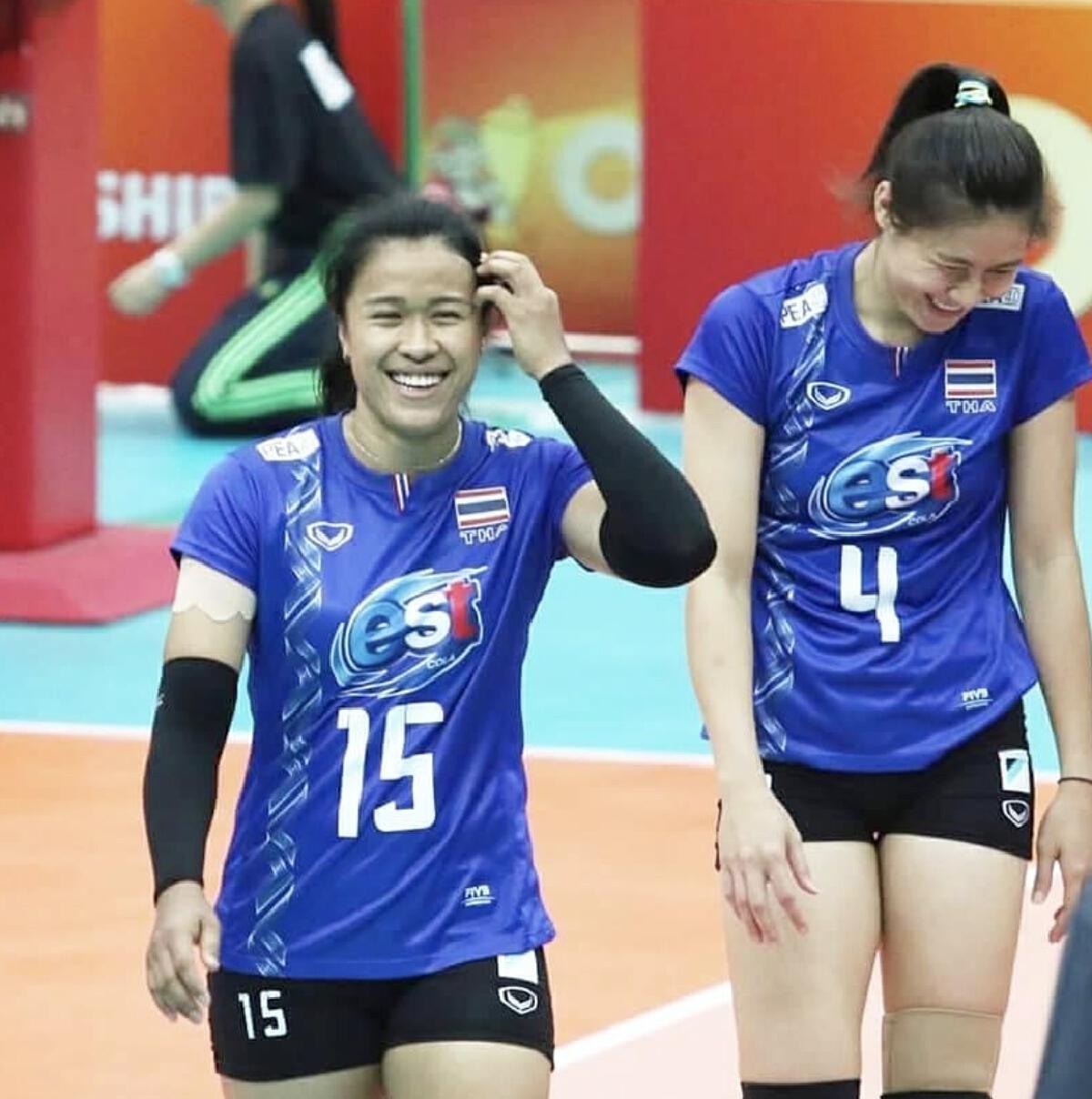 มลิกา กันทอง นักวอลเลย์บอลทีมชาติไทย