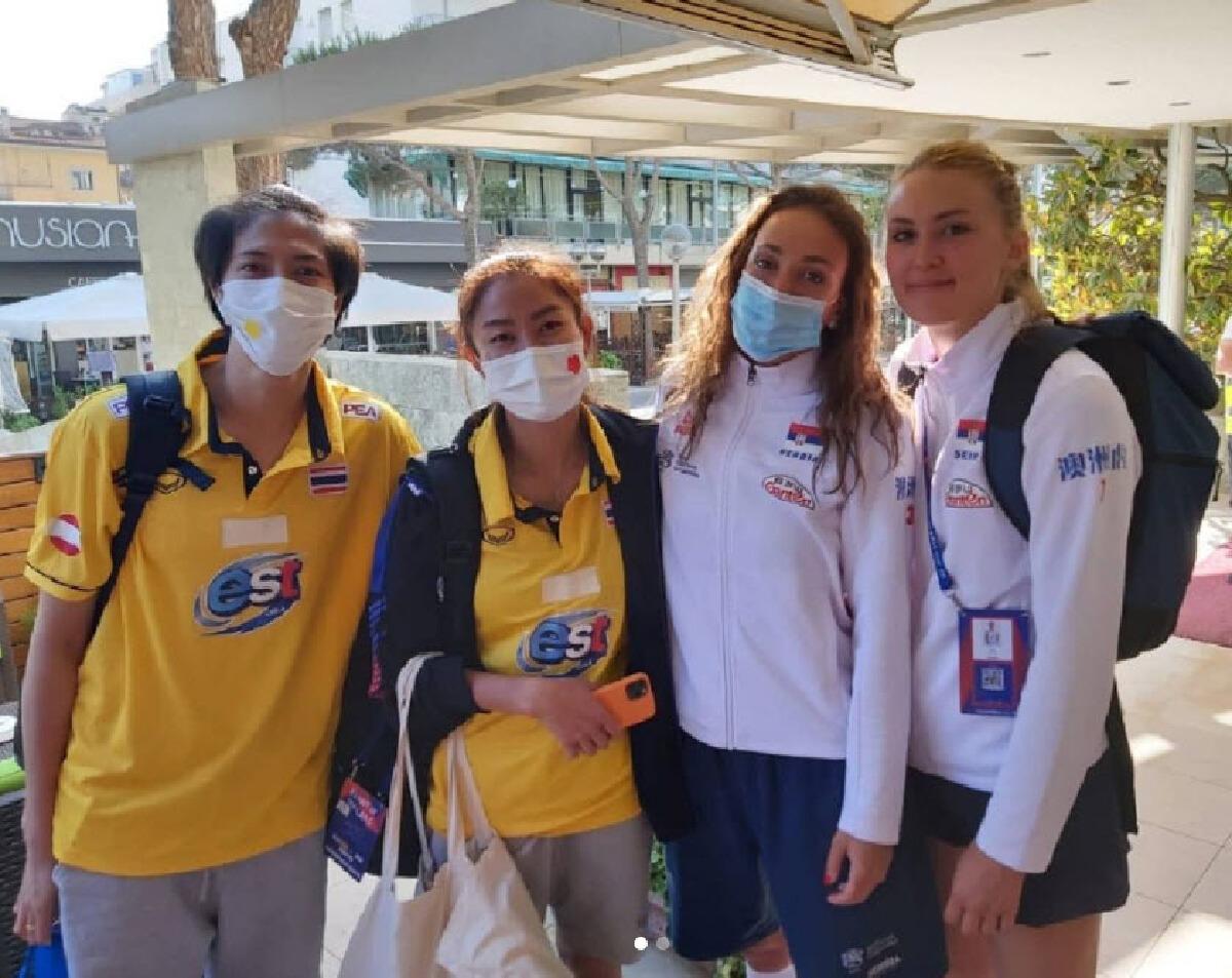 FIVB ลงดาบ ลิโบโร่เซอร์เบีย ปมยกหางตาใส่ทีมวอลเลย์บอลหญิงทีมชาติไทย