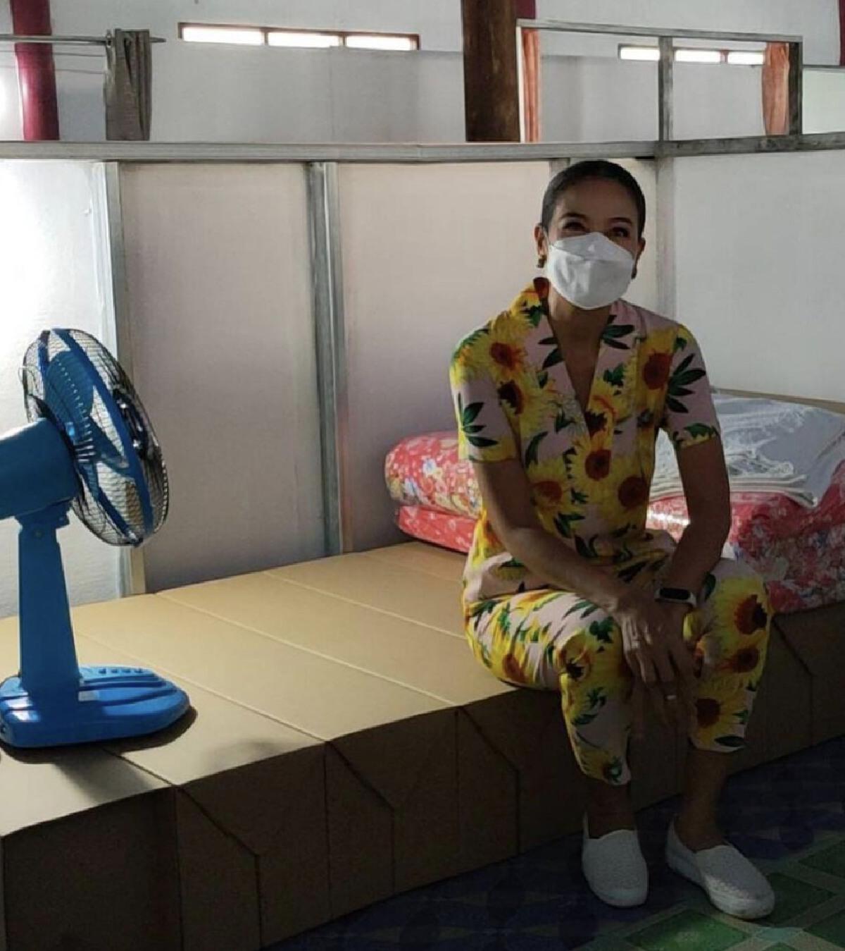 กบ ปภัสรา ประกาศเตียงเต็มแล้ว หลังเปิดโรงพยาบาลสนาม สุพรรณบุรี เพียง 5 วัน