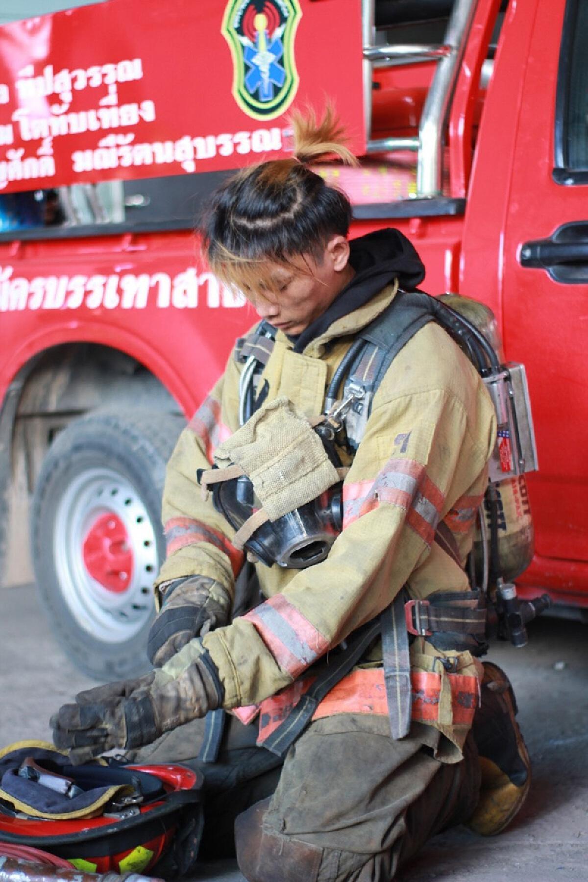 น้องพอส วีรบุรุษดับเพลิง