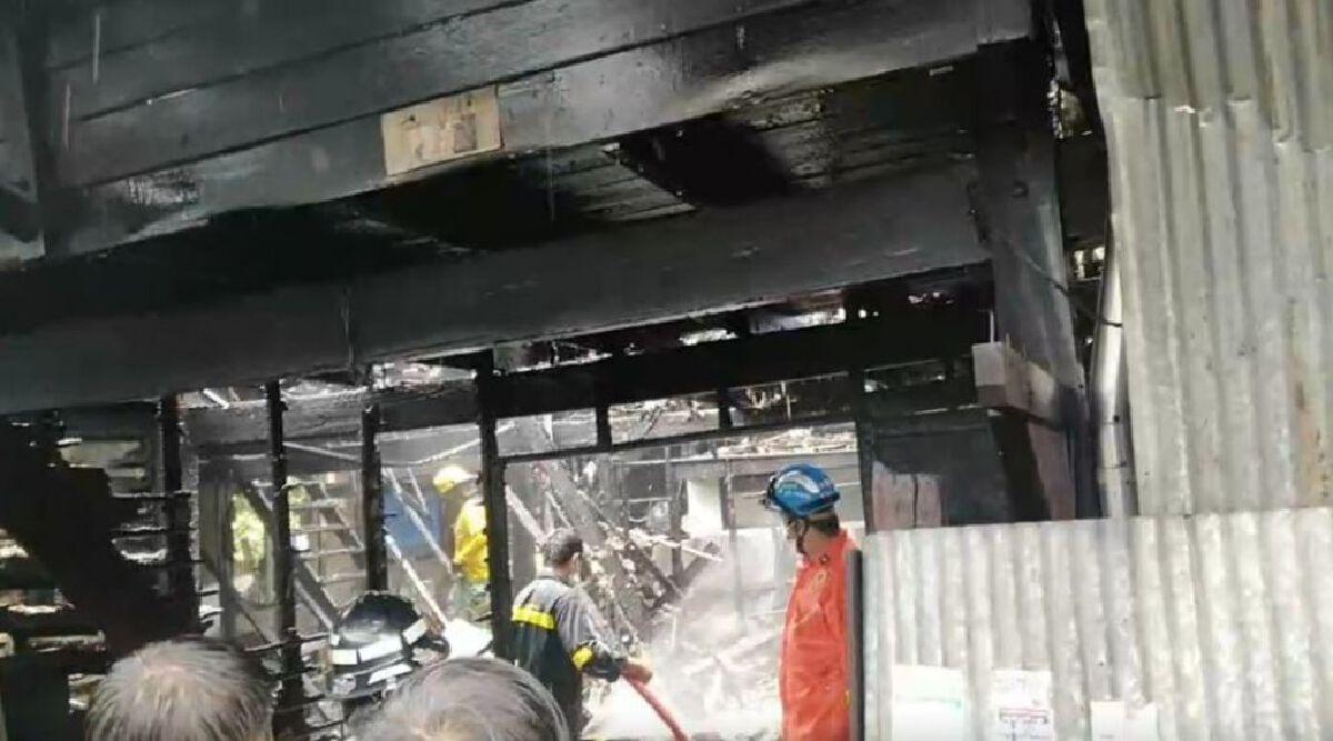 ไฟไหม้ชุมชนสองร้อยห้อง