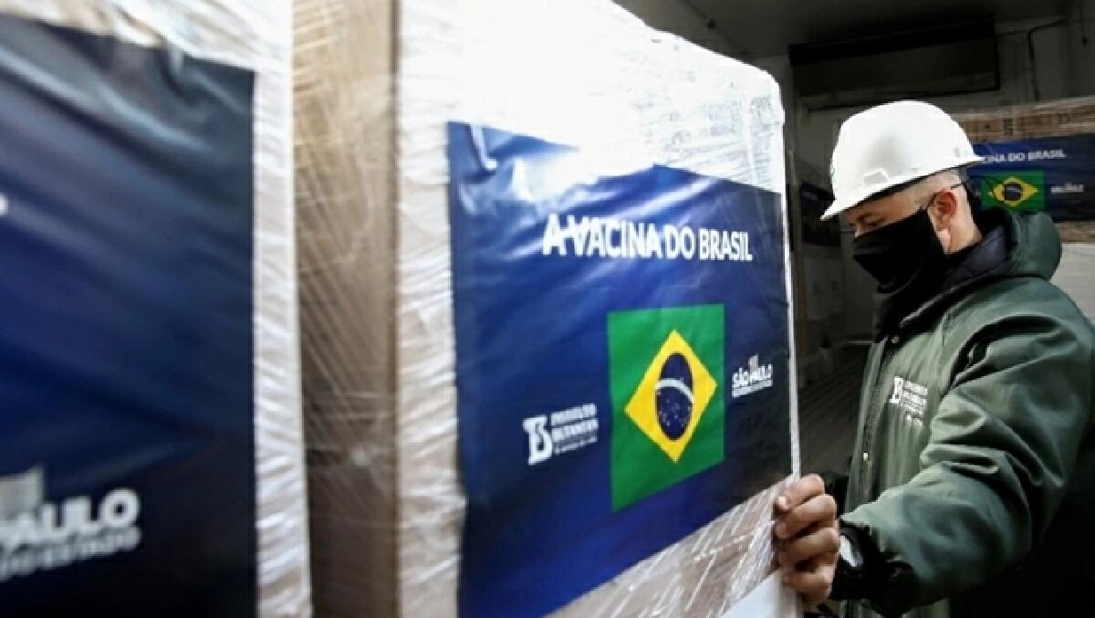 บราซิล สั่งด่วน ระงับใช้วัคซีนซิโนแวค 12 ล้านโดส