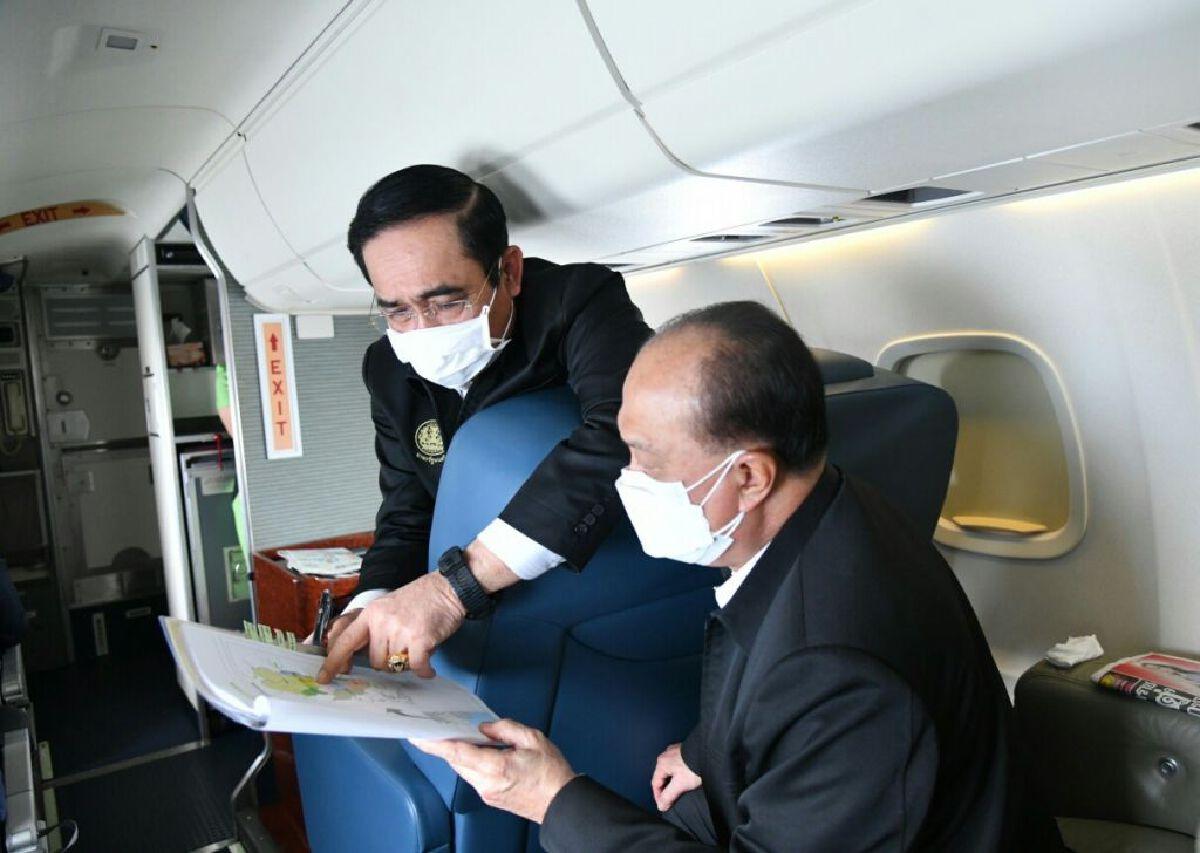 พลเอก ประยุทธ์ จันทร์โอชา นายกรัฐมนตรี นำคณะรัฐมนตรีเเละส.ส. ลงพื้นที่ จ.สุโขทัย