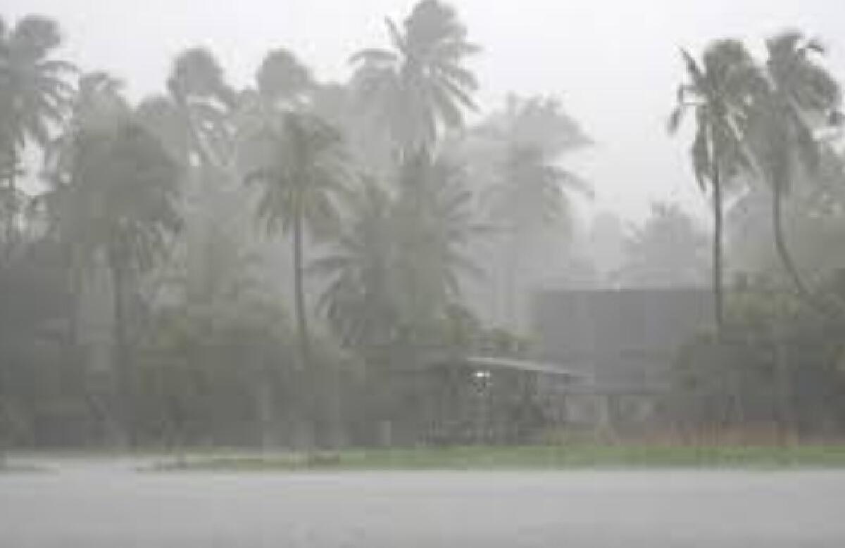 อุตุฯ ประกาศเตือน ฉบับ 9 พายุโซนร้อน พายุคมปาซุ