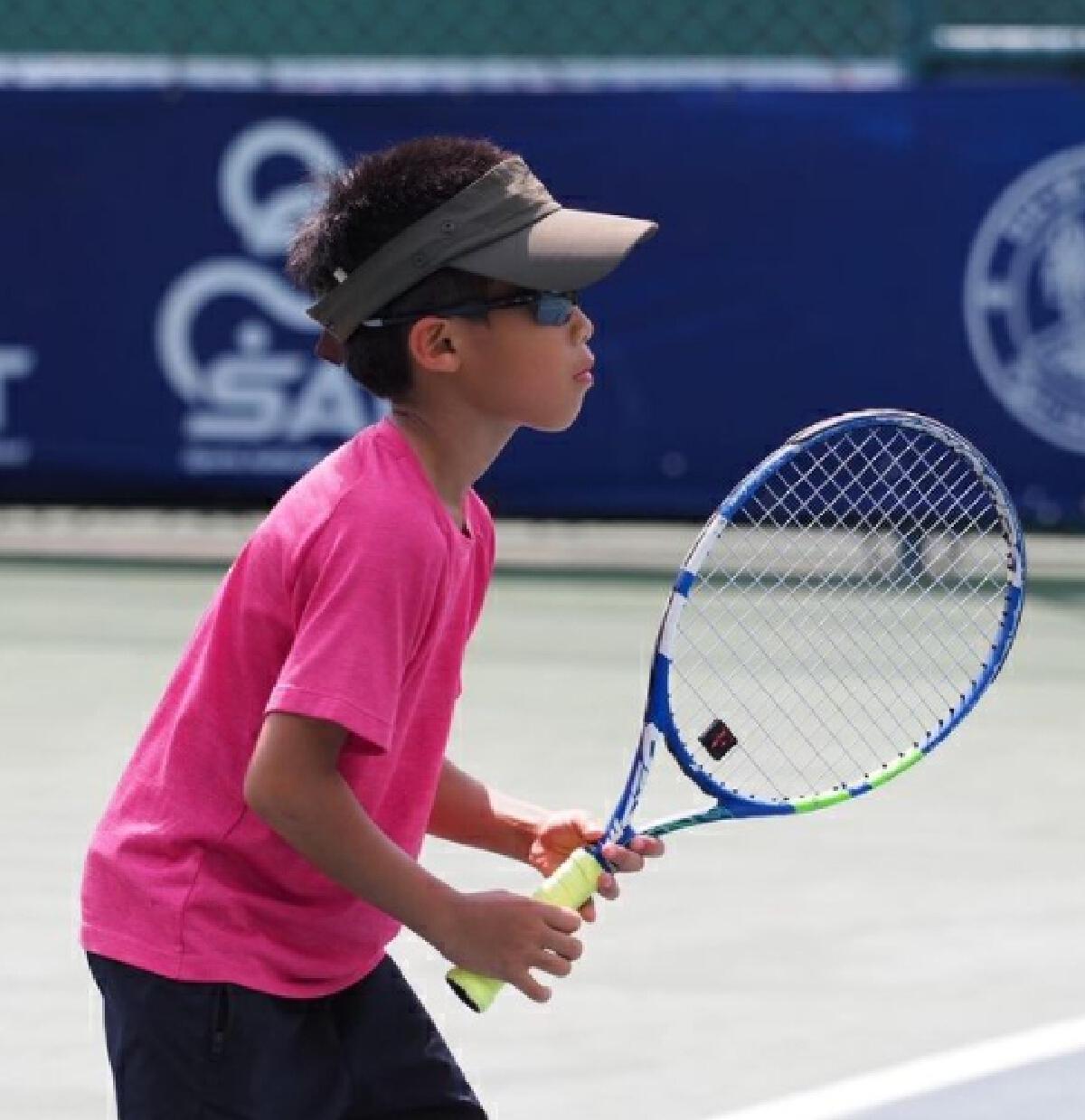 ผู้พันเบิร์ด ปลื้มหนัก น้องวิน ได้แชมป์เทนนิสในวัย 8 ขวบ