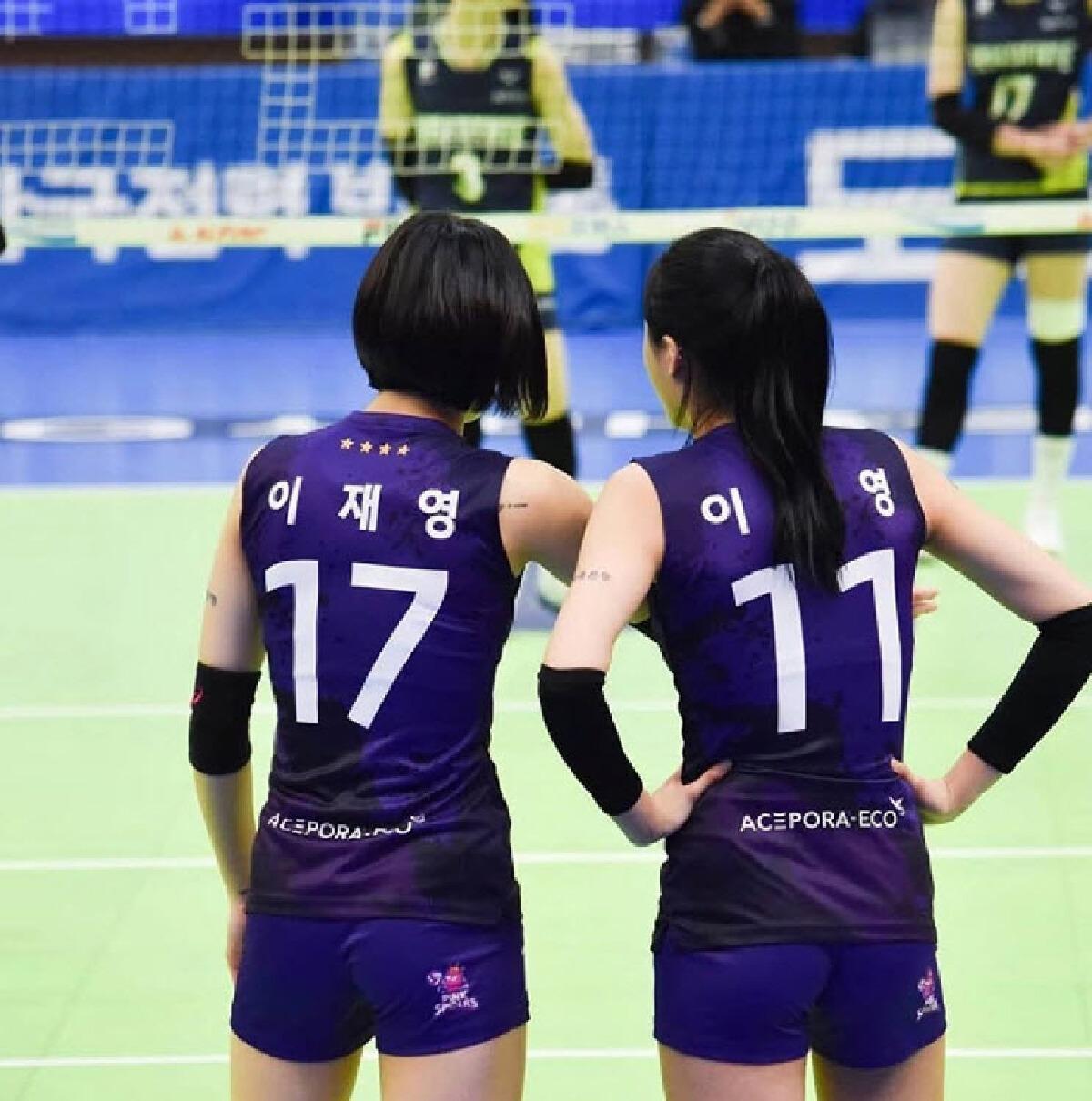 คู่แฝดวอลเลย์เกาหลีใต้
