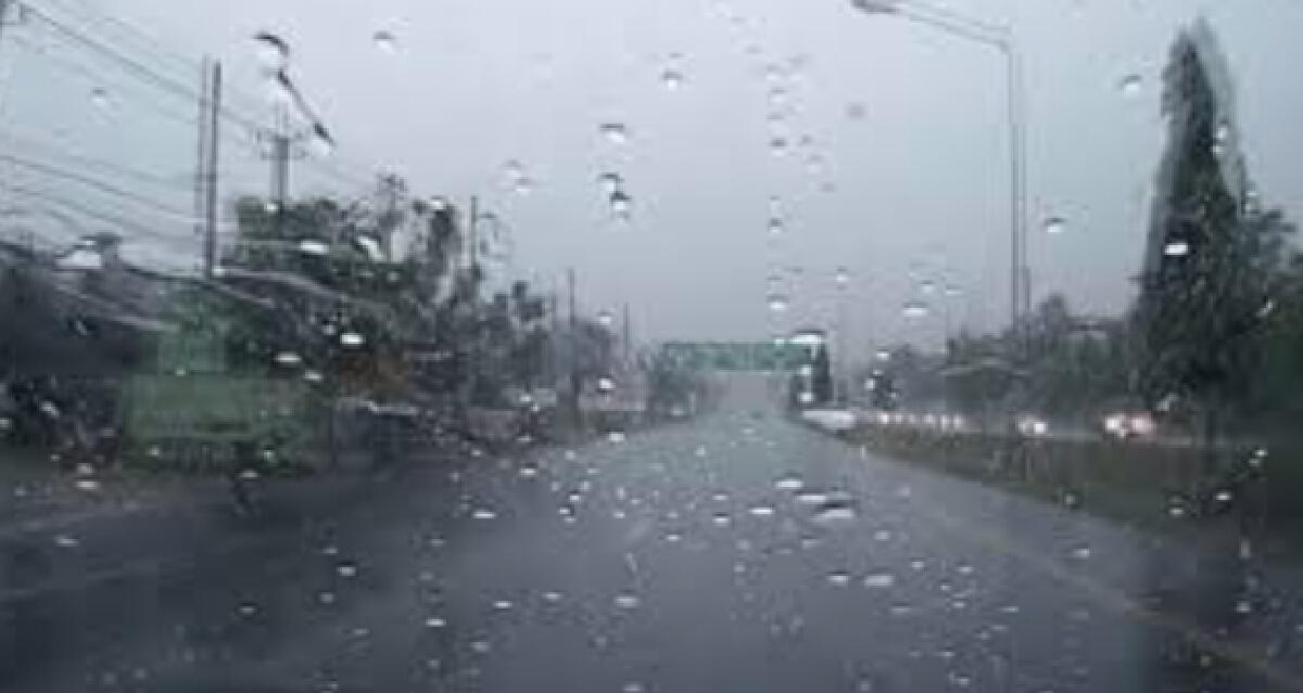 อุตุฯ ออกประกาศเตือน พายุโซนร้อน  ไลออนร็อก ฉบับที่ 7
